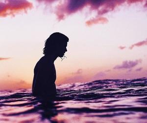 beach, sky, and beauty image