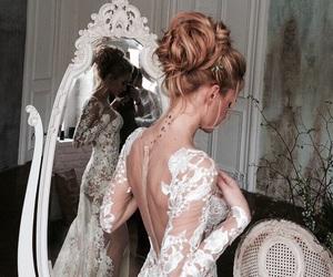 beautiful, wedding dress, and Dream image