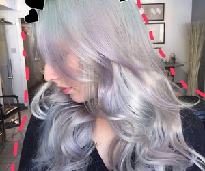 hair style, hair color, and hair goals image