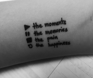 arm, black&white, and happiness image