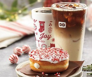 chocolate, christmas, and doughnut image