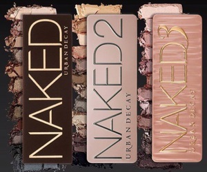 naked, makeup, and urban decay image