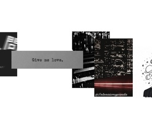 black and white, header, and headers image