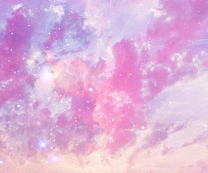 galaxy, pink, and wallpaper image