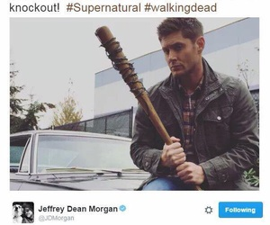 supernatural, jeffrey dean morgan, and Jensen Ackles image