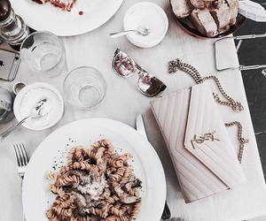 food, fashion, and classy image