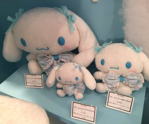 blue, cinnamoroll, and sanrio image