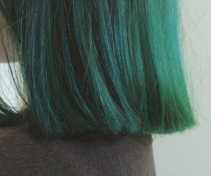 hair+, green+, and hairstylist+ image