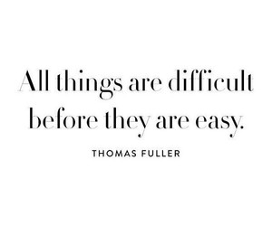 quotes, Easy, and difficult image