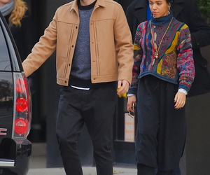robert pattinson and fka twigs image