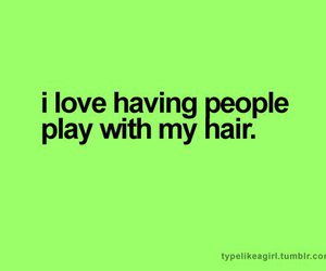 hair, people, and love image