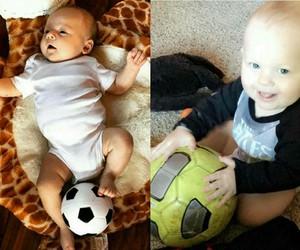 baby, louis tomlinson, and freddie tomlinson image