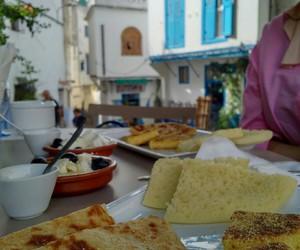 food, travel, and maroc image