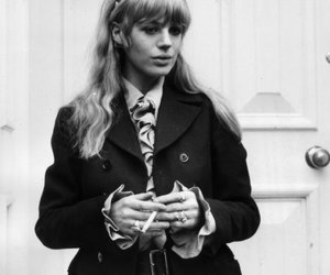 60s, beauty, and cigarette image