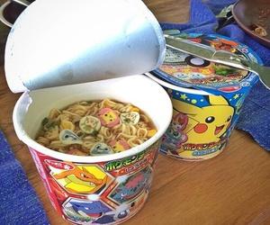 food, pokemon, and ramen image