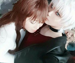 cosplay, mystic messenger, and lol image