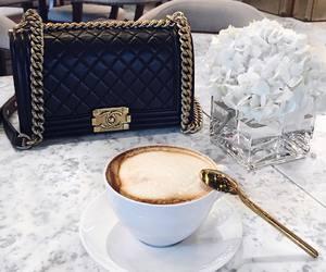 coffee, chanel, and bag image