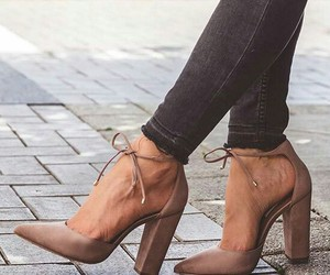 heels, high heels, and lace up heels image