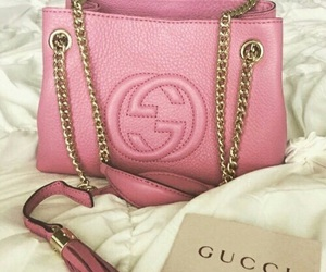 bag, gucci, and pink image