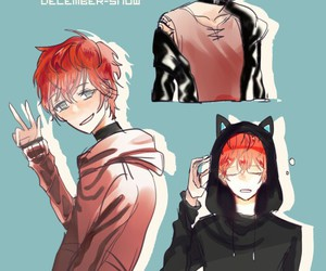 unknown, mystic messenger, and saeran image