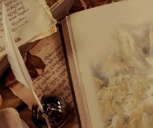 book, rivendell, and hobbit image