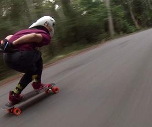 skate, skater, and skateboarding image