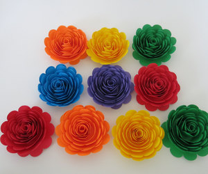 etsy, always in blossom, and paper flowers image
