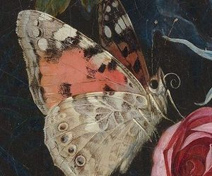 art, butterfly, and detail image