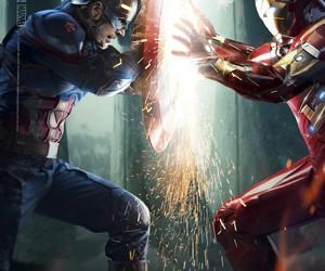 captain america, civil war, and comics image