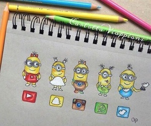 minions, youtube, and whatsapp image