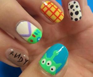 disney and nail image