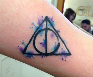harry potter and Tattoos image