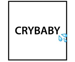 cry baby, 💦, and girl image