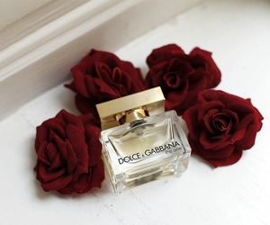rose, perfume, and red image