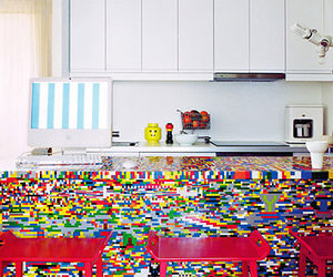 home decor, lego, and table image