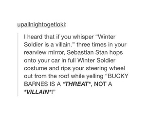 bucky, Marvel, and sebastian stan image