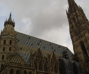 vienna and st.stephen's cathedral image