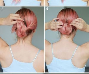 cool, hair, and peinados image