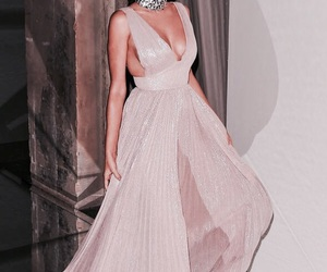 baby pink and gown image