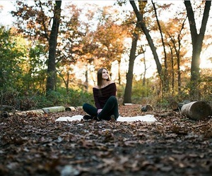 fall, picture, and senior year image