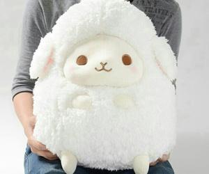 kawaii, sheep, and cute image