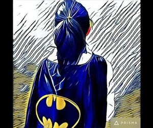 batman, evil, and girl image