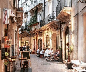 cafe, place, and travel image