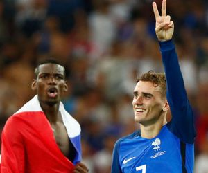 football, france, and antoine griezmann image