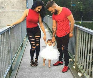 baby, style, and dad image