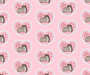 cat, pattern, and pusheen image