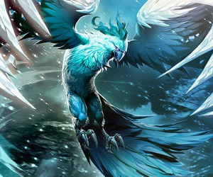 fantasy, ice, and wallpaper image
