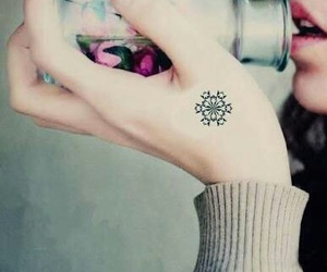 beautiful, snowflake, and winter image