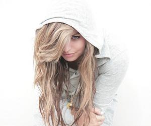 blonde and hoodie image