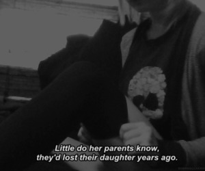 sad, quotes, and lost image